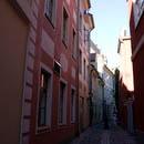 Узкие улочки Риги