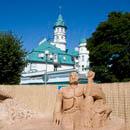 Выставка песчаных фигур, Юрмала