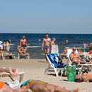 Белоснежные пляжи Юрмалы